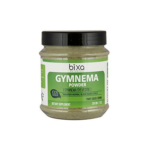 Gymnema Powder (Gymnema Sylvestre Leaf) – 200g (7 Oz) | Digestive Stimulant | Natural Herbal Supplement for normal blood sugar levels | Supports normal glucose tolerance.