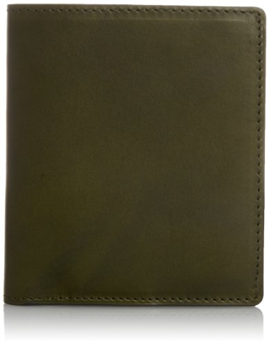 Vintage Revival Productions Air Wallet Oil Leather Bifold Wallet 59206 Olive by Vintage Revival Productions