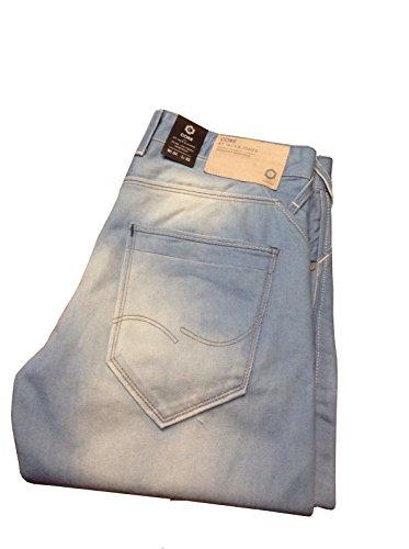 Jack & Jones Herren Jeans Base Nick Cap W34 L32 Sky Blue Neu mit Etikett!
