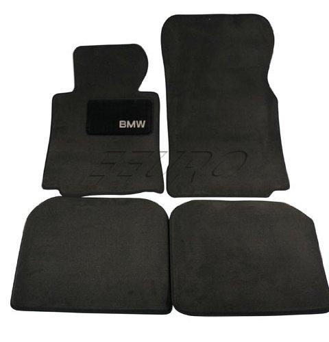 """BMW Genuine Black Floor Mats for E38 - 7 SERIES 740iL 750iL SEDAN (1994 - 2001), set of Four"""