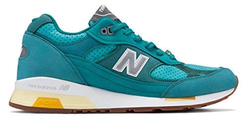オゾン楽しむツーリスト(ニューバランス) New Balance 靴?シューズ メンズライフスタイル New Balance x Concepts 991.5 Teal with Yellow ティール イエロー US 12 (30cm)