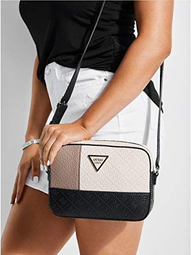 Girl's Crossbody Logo Embossed GUESS Kamryn Multi Black O1vqFBx