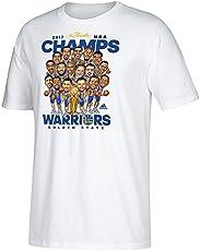 Golden State Warriors 2017 NBA Champions TShirt White   L