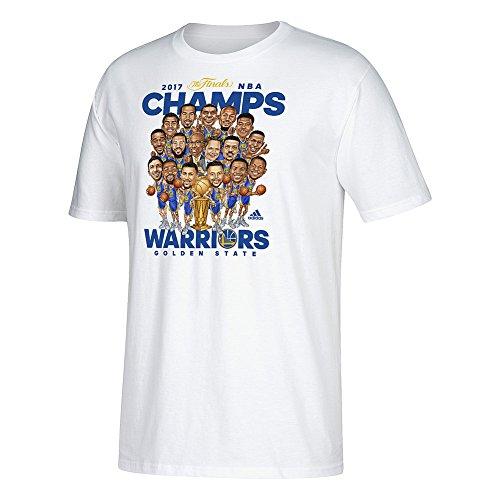 Golden State Warriors 2017 NBA Champions TShirt White - XL