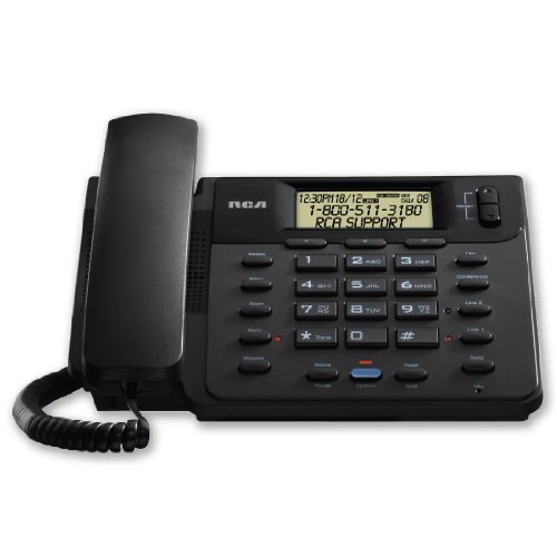 RCA 25201RE1 1-Handset 2-Line Landline Telephone, Model: 25201RE1, Electronics & Accessories Store by Electronics World