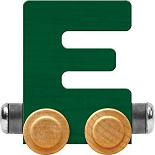 product image for Maple Landmark NameTrain Bright Letter Car E - Made in USA (Green)