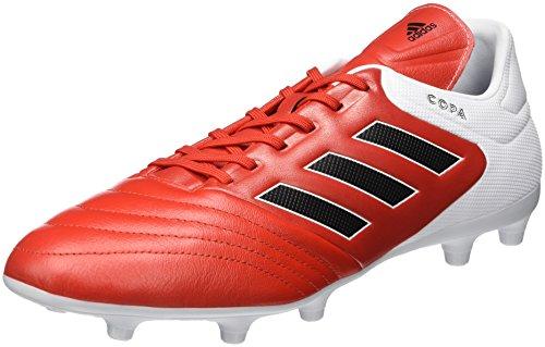 adidas Copa 17.3 Fg, para los Zapatos de Entrenamiento de Fútbol para Hombre Marrón (Rojo/negbas/ftwbla)