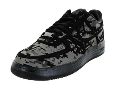 Nike Men's Lunar Force 1 Digi Nrg Black/Reflect Silver/Dark Grey Basketball Shoe 9.5 Men US