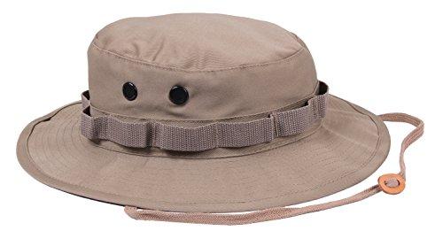Rothco Boonie Hat Khaki - (7) Inch - Hat Boonie Jungle