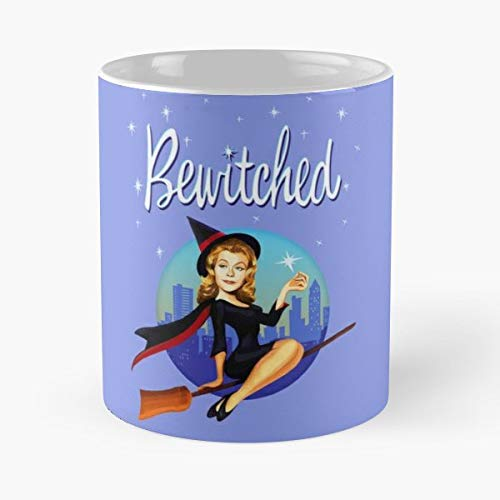 Bewitched Samantha Endora Serena - 11 Oz Coffee Mugs Unique Ceramic Novelty Cup, The Best Gift For Halloween. -