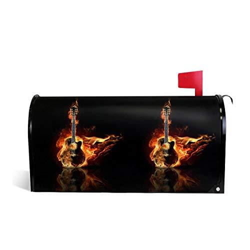 KIIKISS HUG Burning Guitar Fire Orange Flame Magnetic