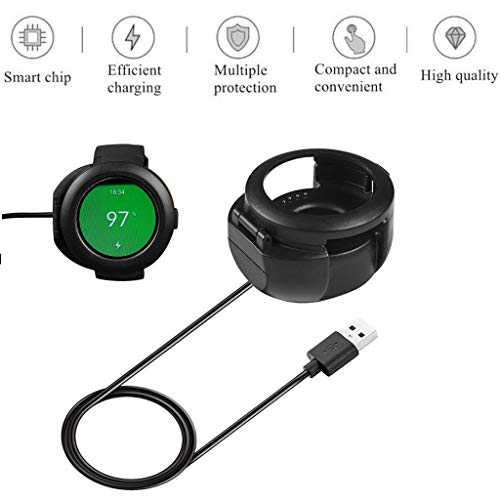 Charger for Huami Amazfit Verge Youth Watch A1808 Smart Watch Replacement Charging Cable Cradle Station Dock with Data Sync USB Charging Magnetic Charger -