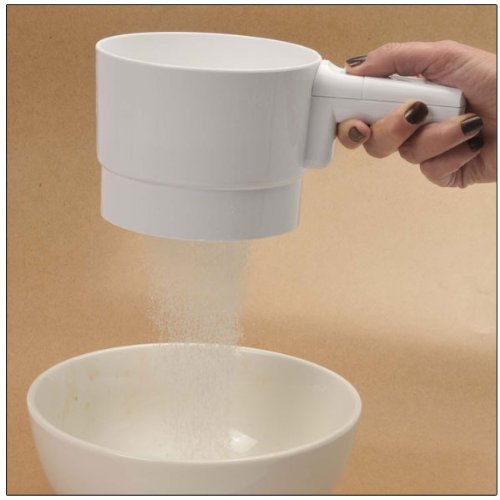 Battery Operated Flour Sifter by MaxiAids
