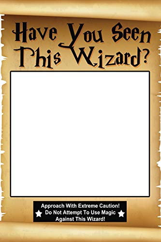 speedy orders Wizard Magician Party Selfie Theme Photo Booth Prop Size 36x24 Inches Fairy Tale Legend Map Scroll Props, Magical Witch Warlock Wizardry -
