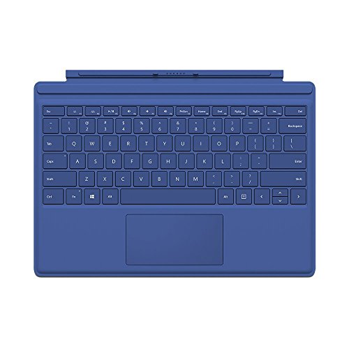 Microsoft Type Cover for Surface Pro - Blue (Renewed) (Microsoft Type Cover For Surface Pro Blue)