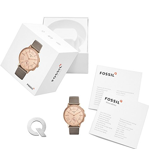 Fossil Hybrid Smartwatch - Q Gazer Gray Leather by Fossil (Image #3)