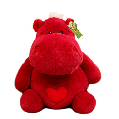 12-Cuddly-Soft-Stuffed-Animal-Toy-Red-Hippo-Doll-Party-Toys-Kids-Pillows-Cushion-Plush-Doll-Fiesta-Toy-For-Graduation-Valentines-Day-Birthday-Xmas-Christmas-Wedding-Best-Gifts-Presents