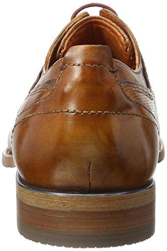 Bugatti 312193061100, Zapatos de Cordones Derby para Hombre Marrón (Cognac 6300)