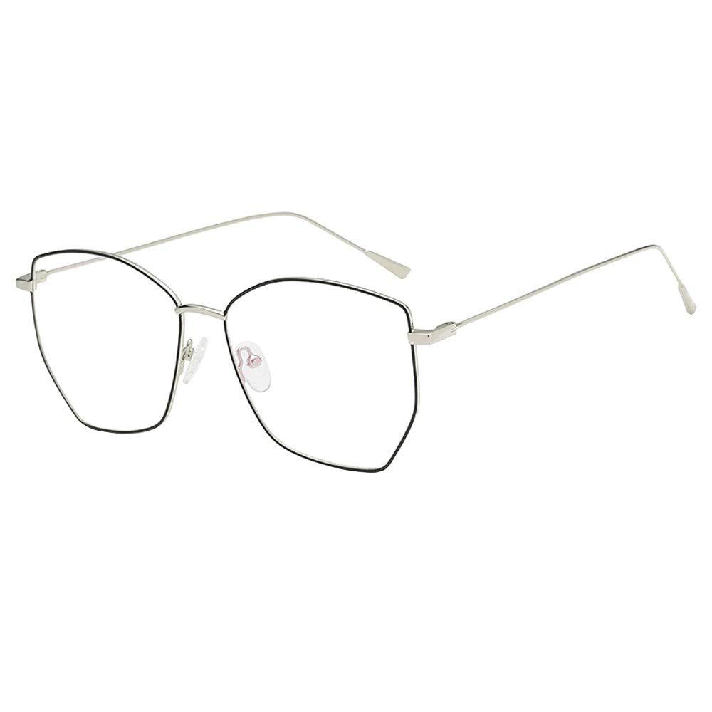 Men Women Non-prescription Glasses Fashion Square Clear Lens Eyeglasses By WDM