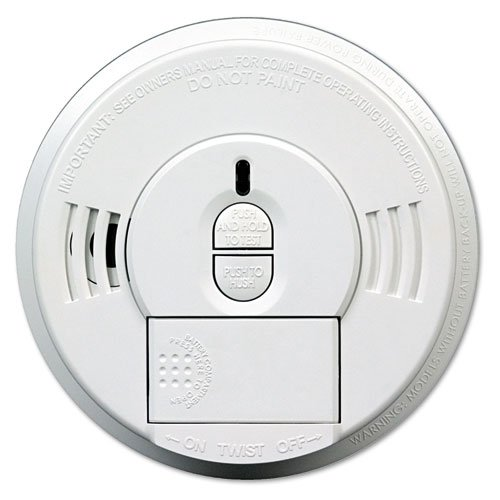 Kidde Front-Load Smoke Alarm w/Mounting Bracket, Hush Feature - Includes one smoke alarm. by Kidde