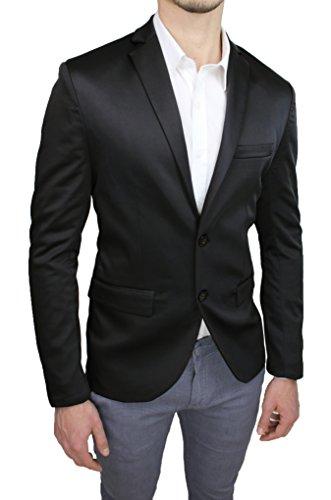 Mat Sartoriale Herren Jacke schwarz schwarz