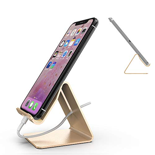 Mr. Spades Cell Phone Stand, Cradle, Dock, Holder, Stand for Switch, All Android Smartphone, iPhone 7 6 6s 8 X Plus 5 5s 5c Charging - -