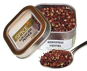 Szechuan Pepper Tin, Sichuan