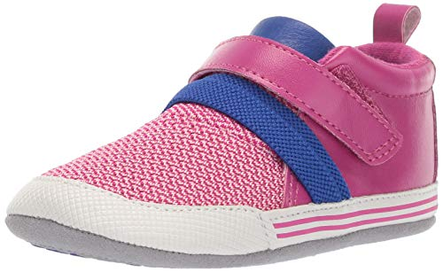 Ro + Me by Robeez Girls' Jill Athletic Sneaker Crib Shoe, Purple, 12-18 - Athletic Shoes Robeez