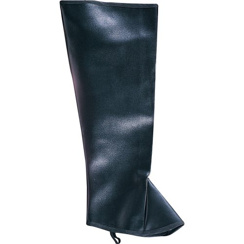 (Rubie's Costume Co Men High Boot Tops-Blk&Br Costume Brown Costume)
