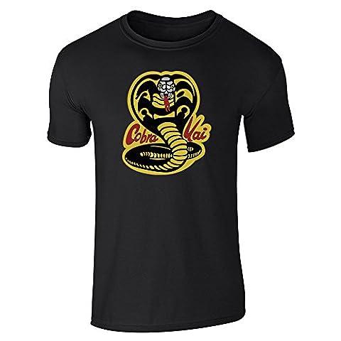 Cobra Kai Karate Dojo Black XL Short Sleeve T-Shirt by Pop Threads - 80's Movie T-shirt