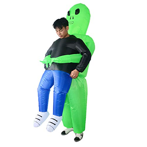 Adult Inflatable Grim Reaper Inflatable Costumes Halloween Scary Skeleton Fancy Dress Cosplay Costumes for Men Women