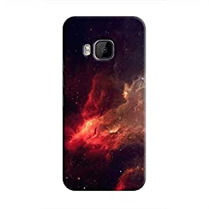 Cover It Up - Red space Cloud One M9 Hard case