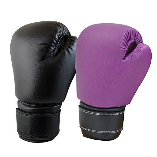 Recruit Boxing Gloves Black 12 (Black Boxing Gloves)