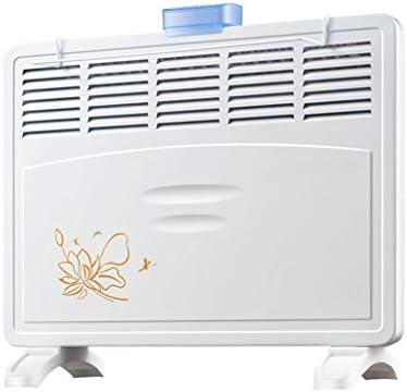 lingyun Calentador De ConveccióN De 2000 Vatios Calentador EléCtrico Casero Ahorro De EnergíA Radiador De BañO A Prueba De Agua para Interiores,Blanco