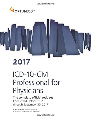 ICD-10-CM Professional for Physicians 2017 (Softbound)