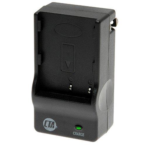 CTA MR-ENEL10 Mini Battery Charger Kit for Nikon EN-EL10 and Olympus LI-40B/LI-42B Batteries