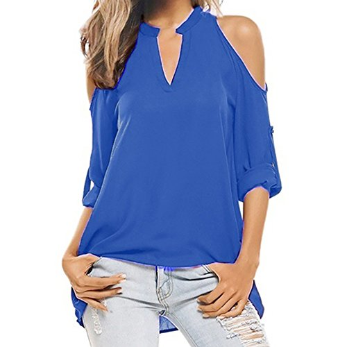 Off The Shoulder Tops,Toimoth Plus Size Women Ladies Long Sleeve Casual Tops Blouse Pullover Shirt(Blue,S) - 9' Classic Boots