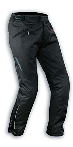 A-Pro Damenhose Wasserdichte Motorrad Hose Thermal Abnehmbarer Polsterung Schwarz 26