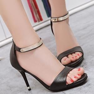 hexiajia - Zapatos Planos con Cordones mujer negro
