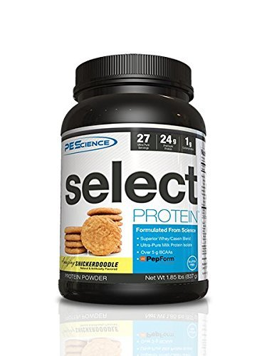 Cookies Silver Oatmeal - PEScience Select Protein, Snickerdoodle, 27 Serving, Premium Whey and Casein Blend
