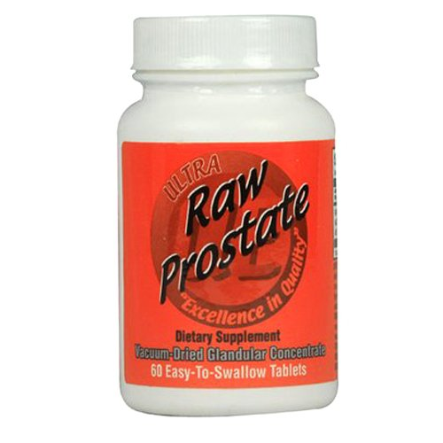 Ultra Glandulars Raw Prostate Tablets, 200 mg, 60 Count