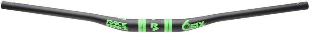 Race Face SIXC 35 20mm Rise Carbon Handlebar Green 820mm 20mm
