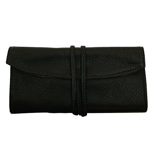 Pensanburu [black] PSR5-01-B 5 Penetration (Pensemble) roll pen case (japan import) (Case Five Pen)