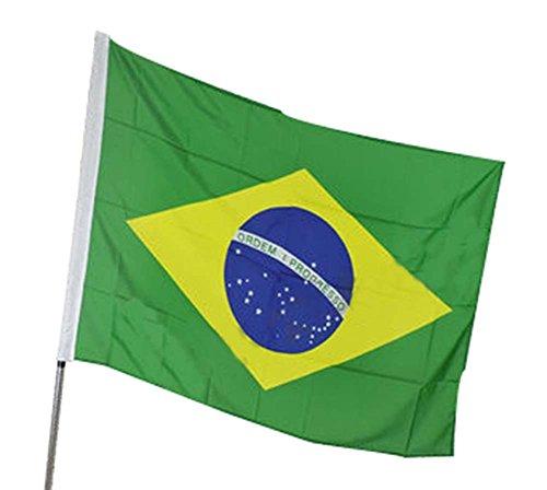 Brasil Bandera: 192 * 128cm Banderas en Venta Banderas del mundo la bandera nacional del verde amarillo