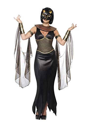 Adult Size Bastet The Cat Goddess Costume with Mask - Size Large -