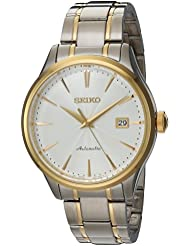 Seiko Mens Japanese Automatic Stainless Steel Casual Watch, Color:Two Tone (Model: SRP704)