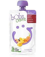 Bubs Organic Sweet Potato, Carrot and Pumpkin Pouch, 120 g