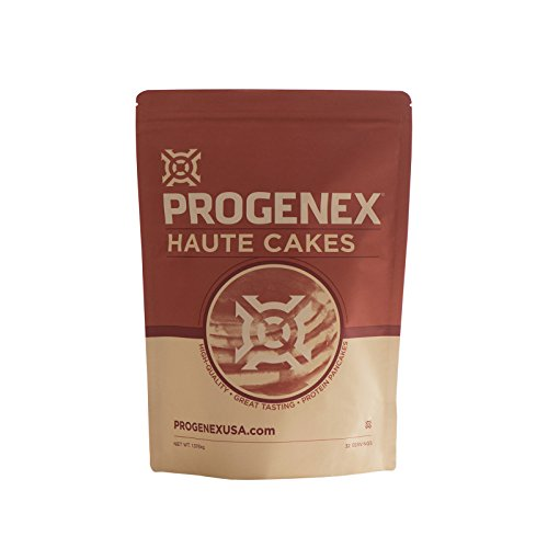 Low White Cake Mix (PROGENEX® Haute Cakes | High Protein Pancake Mix | Made With Whey Protein Isolate | Best Tasting Low Carb Pancakes | Healthy Breakfast | 32 Servings)