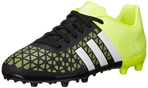 adidas Performance Ace 15.3 FG AG J Soccer Shoe ,Black/White
