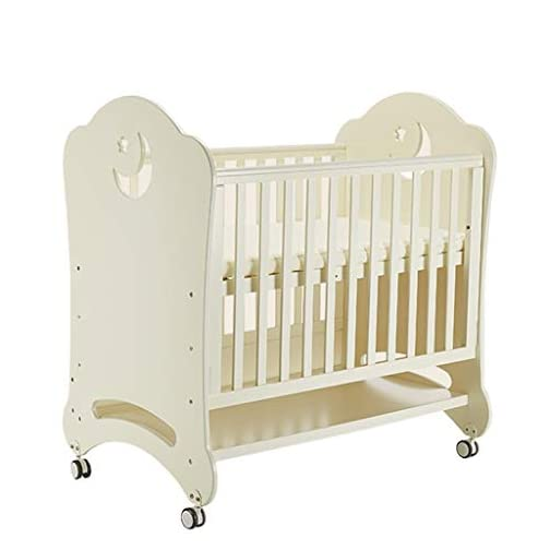 DUWEN Cot Bed Solid Wood Multifunctional Baby Cot European Toddler Bed Game Bed Sofa Bed Children's Bed